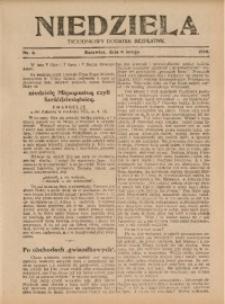 Niedziela, 1926, Nr. 6