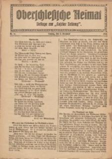 """Oberschlesische Heimat. Beilage zur """"Coseler Zeitung"""", 1924, Nr. 16"""