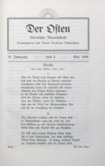 Der Osten, 1909, Jg. 35, H. 5