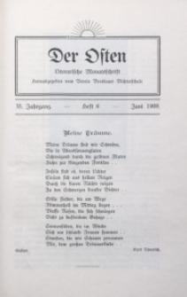 Der Osten, 1909, Jg. 35, H. 6