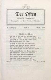 Der Osten, 1910, Jg. 36, H. 3