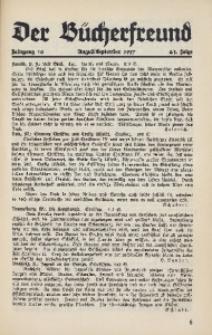 Der Bücherfreund, 1937, Jg. 10, Folge 2/3