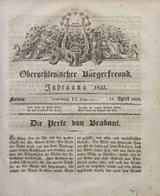 Oberschlesischer Bürgerfreund, 1833, nr 15