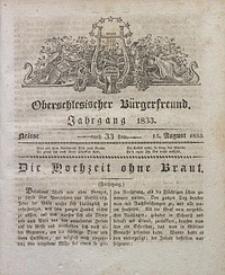 Oberschlesischer Bürgerfreund, 1833, nr 33