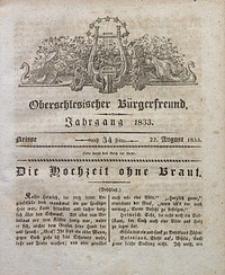 Oberschlesischer Bürgerfreund, 1833, nr 34