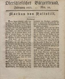 Oberschlesischer Bürgerfreund, 1833, nr 58