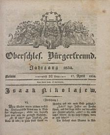 Oberschlesischer Bürgerfreund, 1834, nr 16