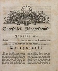 Oberschlesischer Bürgerfreund, 1834, nr 38