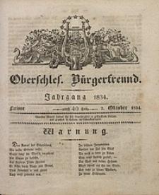 Oberschlesischer Bürgerfreund, 1834, nr 40