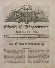 Oberschlesischer Bürgerfreund, 1834, nr 52