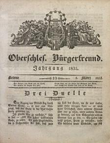 Oberschlesischer Bürgerfreund, 1835, nr 10