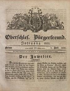 Oberschlesischer Bürgerfreund, 1835, nr 28