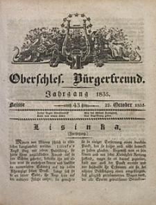 Oberschlesischer Bürgerfreund, 1835, nr 43