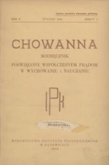 Chowanna, 1939, R. 10