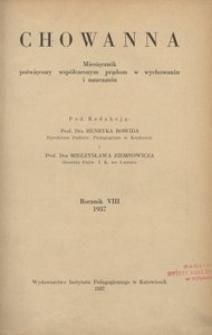 Chowanna, 1937, R. 8