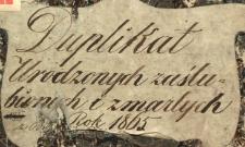 Księga urodzeń, małżeństw i zgonów Pilica 1865