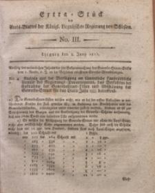 Amts-Blatt der Königlichen Liegnitzschen Regierung von Schlesien, 1811, Jg. 1, No. s03