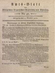 Amts-Blatt der Königlichen Liegnitzschen Regierung von Schlesien, 1812, Jg. 2, No. 40