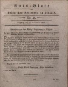 Amts-Blatt der Königlichen Regierung zu Liegnitz, 1816, Jg. 6, No. 48