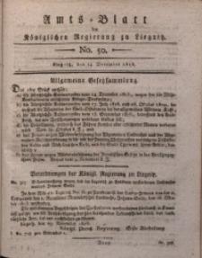 Amts-Blatt der Königlichen Regierung zu Liegnitz, 1816, Jg. 6, No. 50