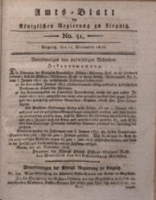 Amts-Blatt der Königlichen Regierung zu Liegnitz, 1816, Jg. 6, No. 51