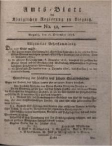 Amts-Blatt der Königlichen Regierung zu Liegnitz, 1816, Jg. 6, No. 52