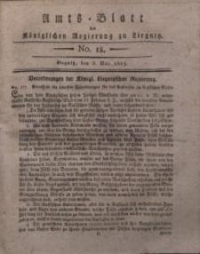 Amts-Blatt der Königlichen Liegnitzschen Regierung von Schlesien, 1817, Jg. 7, No. 18