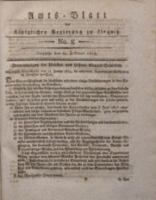 Amts-Blatt der Königlichen Liegnitzschen Regierung von Schlesien, 1819, Jg. 9, No. 8