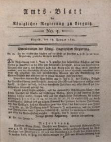 Amts-Blatt der Königlichen Liegnitzschen Regierung von Schlesien, 1820, Jg. 10, No. 5