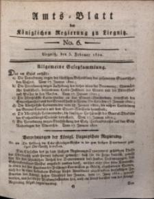 Amts-Blatt der Königlichen Liegnitzschen Regierung von Schlesien, 1820, Jg. 10, No. 6