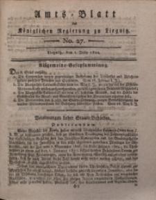 Amts-Blatt der Königlichen Regierung zu Liegnitz, 1820, Jg. 10, No. 27
