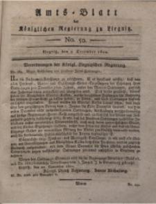 Amts-Blatt der Königlichen Liegnitzschen Regierung von Schlesien, 1820, Jg. 10, No. 50