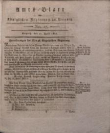 Amts-Blatt der Königlichen Regierung zu Liegnitz, 1822, Jg. 12, No. 17