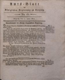 Amts-Blatt der Königlichen Liegnitzschen Regierung von Schlesien, 1822, Jg. 12, No. 25