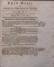 Amts-Blatt der Königlichen Liegnitzschen Regierung von Schlesien, 1822, Jg. 12, No. 26