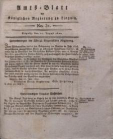 Amts-Blatt der Königlichen Regierung zu Liegnitz, 1822, Jg. 12, No. 32