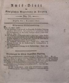 Amts-Blatt der Königlichen Liegnitzschen Regierung von Schlesien, 1822, Jg. 12, No. 36
