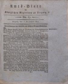 Amts-Blatt der Königlichen Regierung zu Liegnitz, 1822, Jg. 12, No. 37