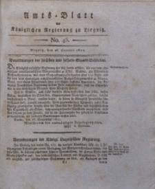 Amts-Blatt der Königlichen Liegnitzschen Regierung von Schlesien, 1822, Jg. 12, No. 43