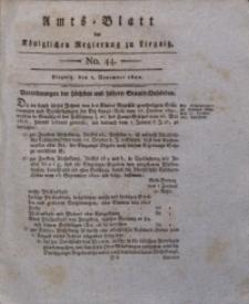 Amts-Blatt der Königlichen Regierung zu Liegnitz, 1822, Jg. 12, No. 44