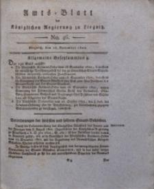 Amts-Blatt der Königlichen Regierung zu Liegnitz, 1822, Jg. 12, No. 46
