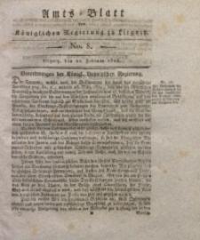 Amts-Blatt der Königlichen Liegnitzschen Regierung von Schlesien, 1823, Jg. 13, No. 8