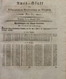 Amts-Blatt der Königlichen Liegnitzschen Regierung von Schlesien, 1823, Jg. 13, No. 31