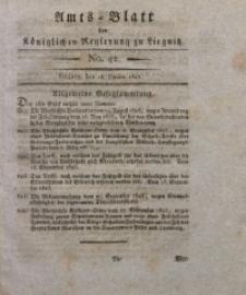 Amts-Blatt der Königlichen Liegnitzschen Regierung von Schlesien, 1823, Jg. 13, No. 42