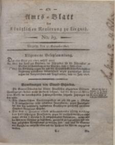 Amts-Blatt der Königlichen Liegnitzschen Regierung von Schlesien, 1824, Jg. 14, No. 39