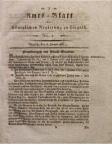 Amts-Blatt der Königlichen Regierung zu Liegnitz, 1825, Jg. 15, No. 1