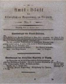 Amts-Blatt der Königlichen Regierung zu Liegnitz, 1827, Jg. 17, No. 3