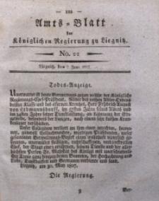 Amts-Blatt der Königlichen Regierung zu Liegnitz, 1827, Jg. 17, No. 22