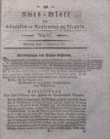 Amts-Blatt der Königlichen Regierung zu Liegnitz, 1827, Jg. 17, No. 37