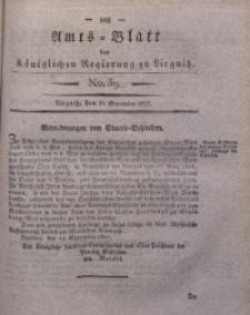 Amts-Blatt der Königlichen Regierung zu Liegnitz, 1827, Jg. 17, No. 39